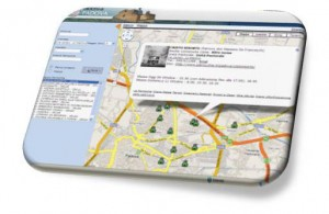 interfaccia parrocchiemap per mappa